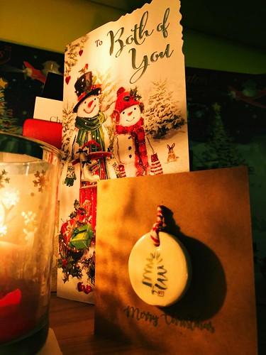 Candlelit cards. 356/365