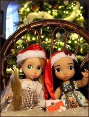 Christmas Presents 1 (BblinkK) Tags: animator rapunzel pocahontas doll disney