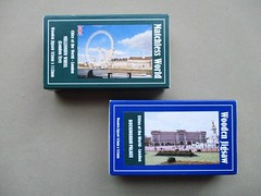 Wentworth packaging - matchbox front (pefkosmad) Tags: wentworth wooden wood jigsaw puzzle leisure hobby pastime packaging box millennium 2000 matchbox new complete whimsies figurals nonstandard