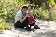 Tabby and me (louisa_catlover) Tags: portrait family child toddler daughter tabitha tabby maranoa maranoagardens outdoor nature afternoon spring november melbourne victoria australia canon 60d 100mm me self
