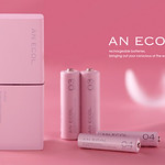 2次電池(新ニッケル水素)及び充電器の写真