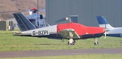 Socata TB-20 Trinidad G-BZPI Lee on Solent Airfield 2019 (SupaSmokey) Tags: socata tb20 trinidad gbzpi lee solent airfield 2019