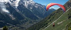 Paragliding (pe_ha45) Tags: chamonix montblanc gleitschirm brévent paragliding fallschirm