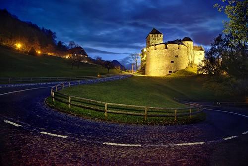 On the way to the Prince of Liechtenstein