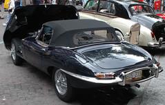 Jaguar E type 4.2 (D70) Tags: jaguar etype 42 annualsteamworks concoursdelegance 2005 gastown vancouver britishcolumbia canada