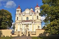 Vilnius: Church of St. Peter and St. Paul (zug55) Tags: vilnius churchofstpeterandstpaul švapaštalųpetroirpovilobažnyčia giovannipietroperti giovannimariagalli janzaor giovannibattistafrediani stpeterandstpaul church kirche antakalnis baroque barock stucco lithuania litauen vilna wilna wilno baltic baltics lietuva lietuvosrespublika unesco unescoworldheritagesite worldheritagesite worldheritage welterbe weltkulturerbe