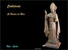 Cathedrale St Nicola de Mire (philippedaniele) Tags: cathédrale basiliquemineure tremblementdeterre coupole dôme baroque baroquesobre fresques statues