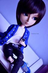 Blue | Taeyang Alberic (·Kumo~Milk·^^) Tags: taeyang alberic max rewigged wig eyelashes gloss obitsu doll junplanning groove rement