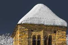 Andorra churches & chapels: La Massana, Vall nord, Andorra (lutzmeyer) Tags: 300mm andorra canoneos5dmarkiii church enero esglesiasantclimentpal foto gener historiccentre history hivern iglesia invierno januar january lamassanaparroquia landscape lutzmeyer lutzlutzmeyercom mountains nieve old pal photo pirineos pirineus poble pueblo pyrenäen pyrenees religion roman rural snow sonnenaufgang sortidadelsol sunrise vallnord village winter