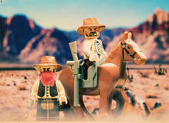 Red Dead Redemption II (Jezbags) Tags: red dead redemption ii cowboy bounty horse lego legos toy toys macro macrophotography macrodreams macrolego canon canon80d 80d 100mm