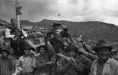 Huancaraylla, Peru, 1970. Limpieza de la acequia 2 (Elf-8) Tags: peru andes ayacucho huancapi huancaraylla fiesta limpieza acequia men boys tradition history old