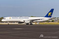 Pacific Air Express Boeing 757 VH-PQA 301118 (Nathen Sieben) Tags: ybbn bne brisbane airport pacific air express boeing 757f vhpqa