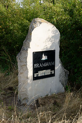 Bramham memorial (mrpb27) Tags: gwuk guesswhereuk roman a1m battle moor memorial limestone stone paradiseway bramham wetherby westriding westyorkshire england uk gb nikon d5200 18200mmf3556gedifafsvrdx dxophotolab mrpb27