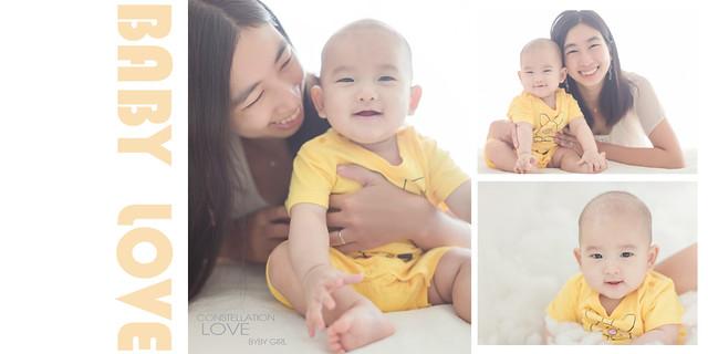 台南兒童寫真|讓人萌翻的狐狸寶寶|愛情街角