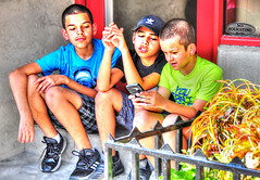 Sign of the Times .... (daystar297) Tags: streetportrait portrait boys colors nikon beautiful faces sitting fortpierce florida southflorida kids streetphotography