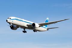 4X-EDF El Al Israel Airlines Boeing 787-9 Dreamliner (amisbk196) Tags: unitedkingdom myrtleavenue aviation amis flickr uk airport 2019 heathrow aircraft 4xedf elal israelairlines boeing 7879 dreamliner