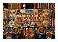 Metal painting (Jorge Cardim) Tags: art timorese timorense museu museum ethnology etnologia lisbon lisboa portugal colors cores metal painting pintura