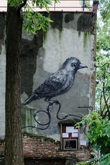 Bird (OliveTruxi (2 Million views Thks!)) Tags: newyork nyc nychos roa streetart urbanart ny unitedstates