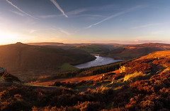 Ladybower golden hour (m00chas) Tags: ladybower ladybowerreservoir bamfordedge bamford derbyshire peakdistrict landscape landscapes
