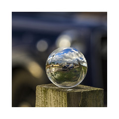 Reflected (Katybun of Beverley) Tags: lensball reflected spherical beverleybeck