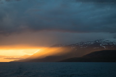 Eyjafjörður at Sunset (josefrancisco.salgado) Tags: 2470mmf28g d5 eyjafjörður iceland nikkor nikon northesternregion atardecer cloud clouds fiordo fjord nube nubes ocaso puestadelsol sunset is