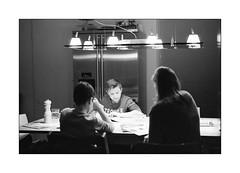 Reading in the evening... (Istvan Penzes) Tags: penzes leicam7 m7 bw black white analog film summilux50mmasph homedeveloped aphog fujineopan400 kodaktmaxdeveloper imaconflextight343 thomas ingrid lucas availablelight