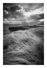 Goleudy Twr Bach - January 15th (Edd Allen) Tags: wales northwales anglesey llanddwynlighthouse lighthouse snowdonia sea seascape seaside shore shoreline atmosphere sunrise grass wind atmospheric clouds landscape uk nikond610 zeissdistagon 18mm infrared
