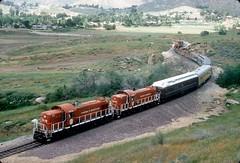 OERM Riverside excursion at Box Springs 4-15-95 (jsmatlak) Tags: los angeles california santa fe atsf box springs riverside railroad train freight oerm orange empire