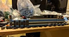 CM&Q AC4400CW progress (swoofty) Tags: lego train cmq ac4400cw ac4400 central maine quebec h