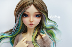 DSC_2046 (sonya_wig) Tags: fairytreewigs wig bjdwig minifeewig bjd bjdminifee minifeechloe handmadedoll bjddoll dollphoto fairyland fairylandminifee minifee chloe bjdphotographycoloringhair