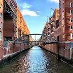 "Views of Hamburg City - The ""City of Warehouses"" by sunny weather thumbnail"