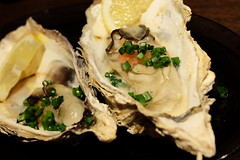 真牡蠣(焼) (HAMACHI!) Tags: tokyo 2018 japan ueno oysterbar diningrestaurant izakaya 佐渡島へ渡れ上野店