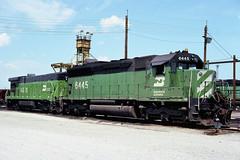 BN SD45 6445 (chuckzeiler50) Tags: bn sd45 6445 railroad emd locomotive clyde train chuckzeiler chz