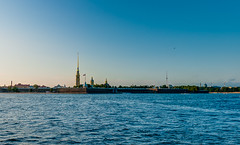 Peter and Paul Fortress (Shumilinus) Tags: 2018 35mmf18 landscape nikond300s saintpetersburgrussia summer city cityscape buildings river sky nevatheriver riverbanks peterandpaulfortress water