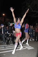 004 (morgan@morgangenser.com) Tags: westhollywood halloween 2018 weho carnival costumes crazy funny bizarre sexy naked lingerie donaldtrump stormydaniels photobymorgangenser scarytights exposing flashing photographers colorful lgbt dressingup dessingdown