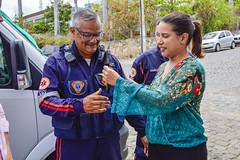 Entrega de nova ambulância do SAMU (prefeituradecaruaru) Tags: entrega de nova ambulância do samu