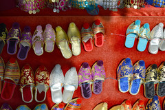 IstanbulSlippersBDMCart1 (Sandi Beaudoin) Tags: istanbulturkey istanbul turkey gold colorful glass ancient green blue red yellow shoes slippers door brown stone old historic people dolls traditional travel city tourist europe adventure fall castle castledoor bdmcart nikon sandibeaudoinzenfoliocom