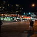 Night Lights of North Vancouver - Esplanade and Chesterfield