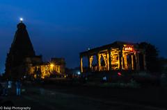 Big Temple - Thanjavur- UNESCO Heritage Site (Balaji Photography : 6.6 Million+ views) Tags: bigtemple cholaarchitecture cholaarchitectire chola rajaraja brahadeeswartemple goldenhour bluehour lowlightphotography monuments unesco unescoheitagesite temple templearchitecture templesofindia temples thanjavur canon canon70d gopuram nandhi skyline sky 5photosaday