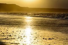 Beach of Asnelles (Geert Van Keymolen) Tags: 2018 asnelles d5200 europe france frankrijk nikon normandië normandy sigma24105mmf4artdgoshsm autumn beach buitenshuis clouds color dag day herfst kleur landscape landschap lucht nature natuur reflections sea seascape sky strand sun sunset wolken zee zon zonsondergang