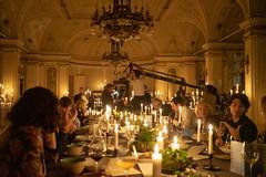 Analog Superheroes Dinner (scottboms) Tags: travel austria projects analogresearchlab arl impossiblefilm sudbahnhotel semmering