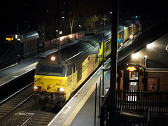 67027        P1142902sm (Preselector) Tags: butlerslane rail networkrail measurement 67027 143i charlotte