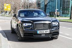 GB (Portsmouth) - Rolls-Royce Wraith Black Badge (PrincepsLS) Tags: uk gb british license plate hn portsmouth germany berlin spotting rollsroyce wraith black badge