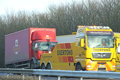 MAN Recovery Egertons BX08 CHD (SR Photos Torksey) Tags: transport truck haulage hgv lorry lgv logistics road commercial vehicle freight traffic man recovery egertons