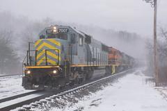 LTEX 7007 @ East Butler, PA (Dan A. Davis) Tags: bp buffalopittsburgh geneseewyoming bprr gw sd50 sd402 sd40t2 freighttrain train railroad locomotive pennsylvania pa butler east
