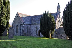 St Mary's Church, Thornthwaite, Cumbria, England, UK (tosh123) Tags: church building thornthwaite lakedistrict architecture tree arch grave graveyard gradell listed