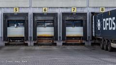 Industriestraße, Emmerich (Ivan van Nek) Tags: emmerich emmerichamrhein emmerik nordrheinwestfalen noordrijnwestfalen nikon nikond7200 d7200 germany deutschland bundesrepublikdeutschland allemagne derailinator logistics truck gates mysteriousplacewithnoname