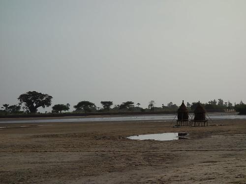 Nous voici maintenant sur Mar Lodge, une des principales îles du Sine Saloum