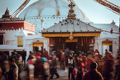 Boudhanath Stupa (danielhibell) Tags: kathmandu nepal travel asia discover explore world street streetphotography people religion culture ambience mood buddhism hinduism colour light praying moving special