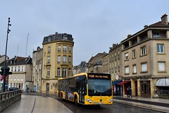 Metz - Mercedes-Benz Citaro C2 - 27/11/18 (Jérémy P.) Tags: metz moselle lorraine grandest mercedesbenz mercedes citaro c2 bus transports